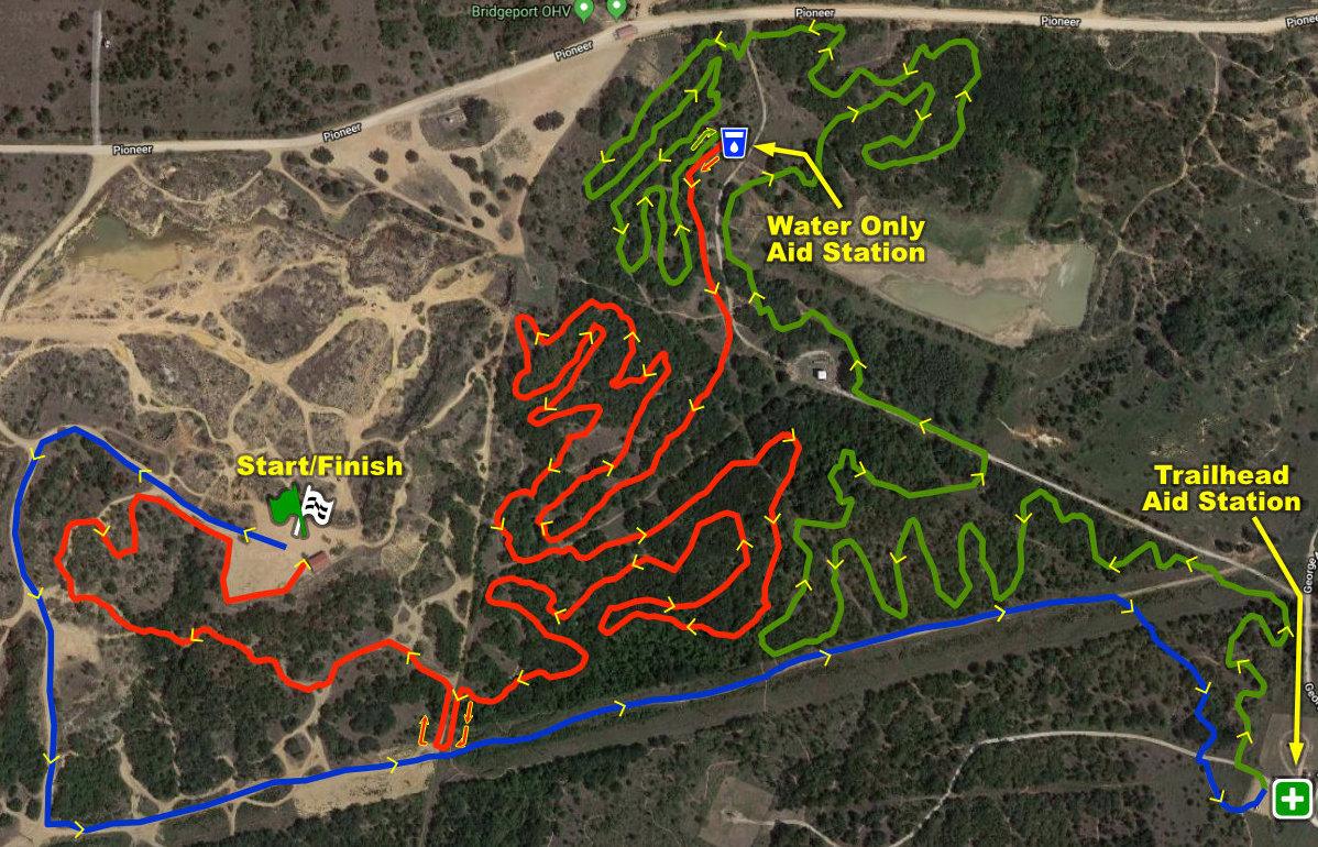 Bridgeport 10K Course Map